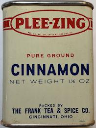 #CS432 - Full Tin of Plee-zing Brand Frank Tea and Spice Cinnamon
