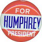 #PL097 - Humphrey for President Pinback