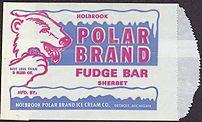 #PC074 - Polar Brand Fudge Bar Bag with Polar Bear