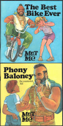 #CH431 - Group of 2 Different Mr. T Story Books