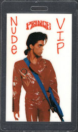 ##MUSICBP0693 - Prince OTTO Laminated Backstage Pass from the 1990 Nude Tour