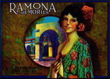 #ZLC153 - Ramona Memories Lemon Crate Label