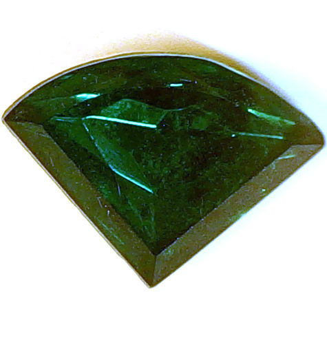 #BEADS516 - Large 18mm Wide Triangular Deco Style Rhinestone - As low as 25¢ each