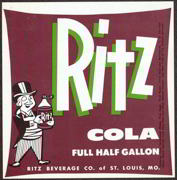 #ZLS098 - Ritz Cola Label