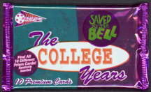 #ZZA178 - Pack of Saved by the Bell Cards