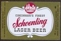 #ZLBE044 - Schoenling Lager Beer Label - Foil