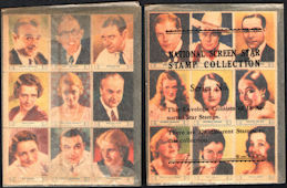 #CH185  - Full Pack of 1932 Screen Star Stamps Series 3