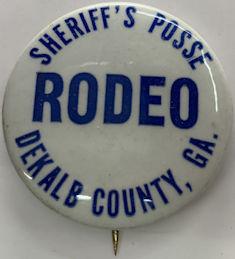 #BA045 - Sheriff's Posse Rodeo Pinback