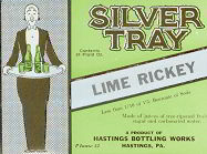 #ZLS077 - Silver Tray Lime Rickey Label