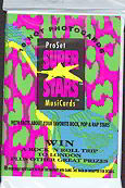 #ZZA040 - 1991 Super Stars Pack of Music Trading Cards