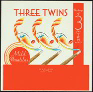#ZLSC054 - Three Twins Cigar Box Label