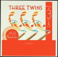 #ZLSC054 - Three Twins Cigar Box Label