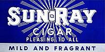 #TOP001 - Sun-Ray Cigar Poster