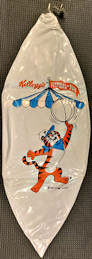 #CH443 - Group of 2 Kellogg's Tony the Tiger Jr. Beach Balls - Festival of Fun Giveaway