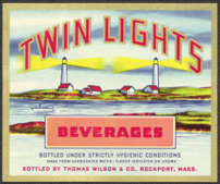 #ZLS128 - Twin Lights Beverages Label