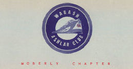#CA104 - Wabash (Railroad) Ashlar Club Letterhead - As low as 40¢ each