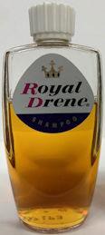 #CS463 - Full Bottle of Royal Drene Shampoo - White Lid