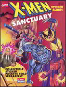 #ZZA160 - X-Men Sanctuary Sticker Album