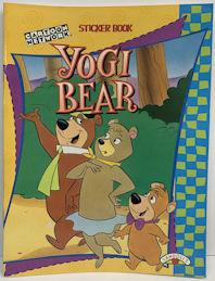 #CH459  - Yogi Bear Cartoon Network Sticker Book - Includes Stickers