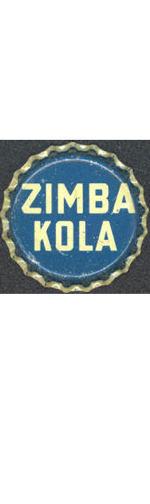 #BC094 - Group of 10 Scarce Very Old Zimba Kola Cork Lined Soda Bottle Cap