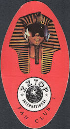 ##MUSICBP0764 - ZZ Top OTTO Cloth Backstage Pass for the ZZ Top International Fan Club